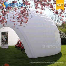 Fábrica claro partido cubo gran sombra tienda inflable transparente burbuja camping domo tiendas de campaña