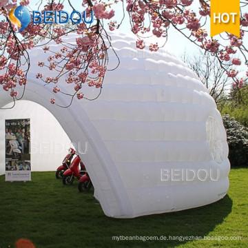 Beliebtes Dome House White Air Aufblasbares Dome Zelt zum Verkauf