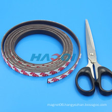 soft type flexible rubber magnet adhesive strips