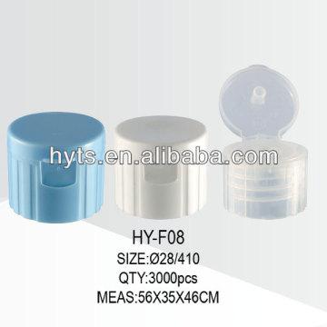 Conteneurs en plastique 28/410 flip top cap