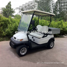 CE approved 2 seater small golf cart with a cargo electric buggy car utility cart