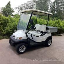 CE aprovado carrinho de golfe pequeno de 2 lugares com um carrinho de utilitário de carro de buggy elétrico de carga