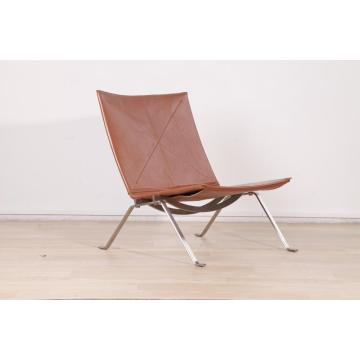 Cognac Leather Poul Kjaerholm PK22 Easy Chair Réplica