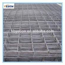 6 * 6 malla de alambre soldada galvanizada para el panel de la cerca