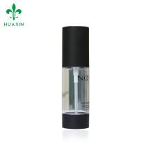 High quality 30ml transparent airless acrylic white spray pump bottle series