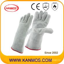 "13"" Cowhide Split Leather Industrial Safety Work Gloves (11121)"