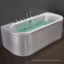acrylic watermark waterfall whirlpool bathtub for double people bath tub