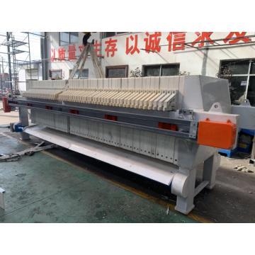 Tratamiento de agua de placa y marco de prensa de filtro hidráulico
