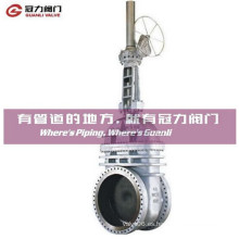 Válvula de puerta de cuerpo de Alloy Brass Wcb CF8 CF8m