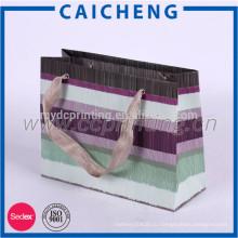 Производство дешевые бумажный мешок печати