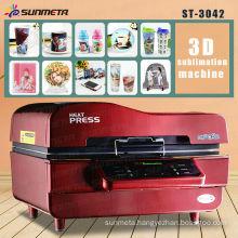 Hot sale mug printer 3d vacuum heat press printer machine for all kinds of mug printing