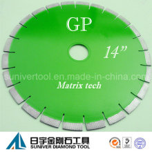 """GP 14 """"* 15 m m de Sierra de diamante discos, disco diamantado, discos de diamante para granito"""