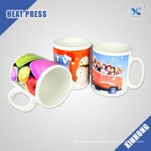 China Supply Easy To Custom Logo 11oz sublimation white mug