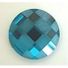 Cuentas de vidrio con fondo plano Piedras esmeriladas