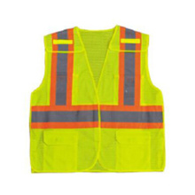 Colete de segurança reflexivo de alta visibilidade