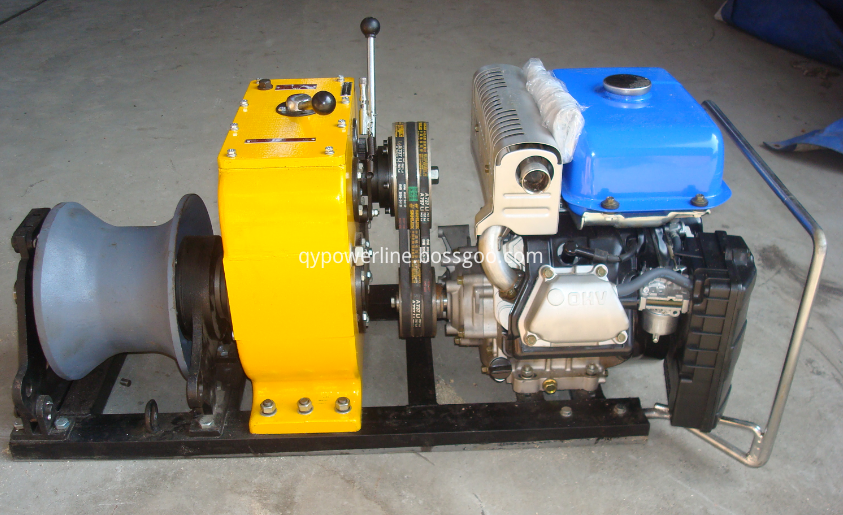 petrol powered winch