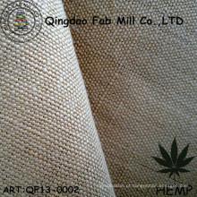 Tecido de lona de cânhamo para vestuário e saco (QF13-0002)