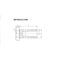 Фитинги BSP Banjo 720B
