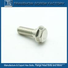 Primeira qualidade M10X20 AISI 304 parafuso de flange de aço inoxidável