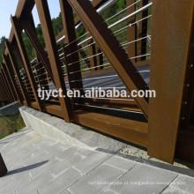 Placa de aço corten resistente à corrosão atmosférica ASTM A709