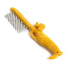 cartoon pet flea comb