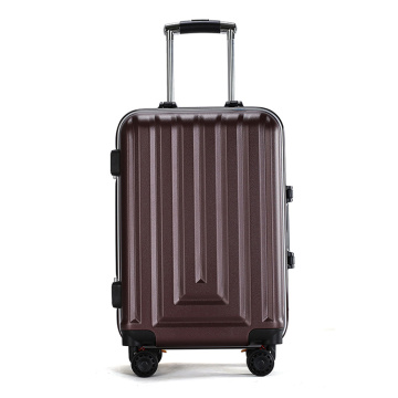 pure abs pc hard shell aluminium trolleybagage