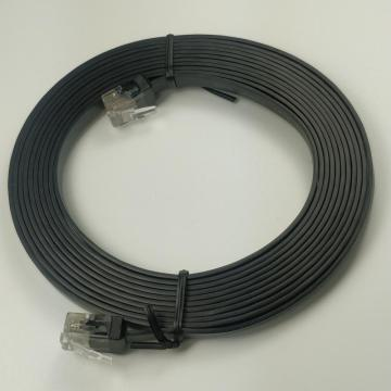 Cable Ethernet plano Cat6 Cables de conexión delgados Cat6