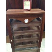 South American Teak Wood Cigar Cabinet
