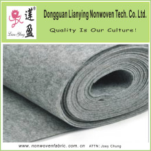 Grey Color Thick Polyester Needle Punched Felt