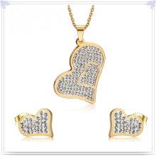 Accesorios de moda joyería de moda joyería de acero inoxidable establece (js0225)