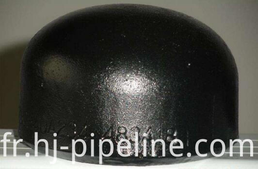 carbon steel fitting cap