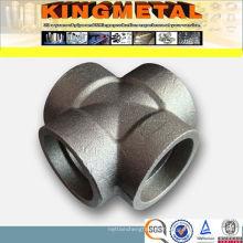 3000lb/6000lb/9000lb Carbon Steel A105 Socke Weld Forged Cross