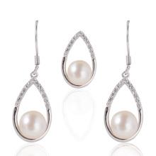 Bijoux en perles, Perles d'eau douce, Pendentif perle, Boucles d'oreilles en perle