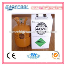 líquido refrigerante 407c do refrigerador e do congelador para o condicionador de ar, gás novo do líquido refrigerante r407c para venda