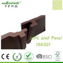 Interlocked Panel Flooring Supplies Wood Look WPC Wall Cladding