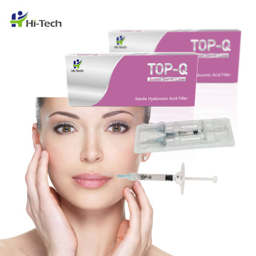 TOP-Q Injizierbarer Hautfüller Pure Hyaluronic Acid Gel 2ml