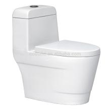 CB-9803 promotionnel plancher monté une pièce toilette en céramique une pièce toilette bol bidet toilettes allemagne