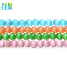 108pcs 6mm cat's eye round beads rosary beads tasbih beads