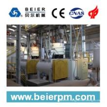 SRL-W 1000/3000 Plastic High Speed Horizontal Heating/Cooling Mixer/Compunding Machine