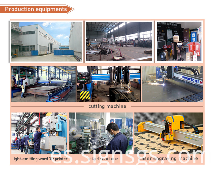 Production Equipments