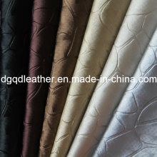 Cuir coloré de meubles de décoration de modèle de pierre (QDL-51387)