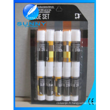 Hot Sale bâton de colle thermofusible non toxique de couleur blanche