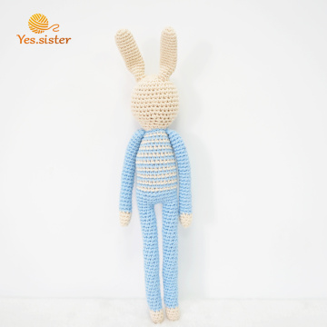 Regali per bambini Easter Bunny Crochet Doll toy