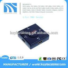 Interrupteur HDMI vidéo 3 en 1 1080P