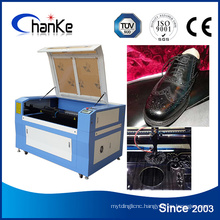 Shoes Upper Leather CO2 Laser Cutting Engraving Cutter