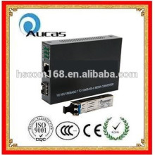 Prompt delivery Fibre Optic Networking 10/100M 2-port media network switches /converter china offer