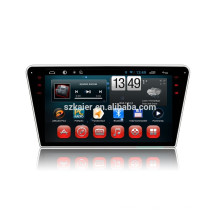Fábrica de Kaier-Core base -Full touch android 4.4.2 DVD del coche para Peugeot 408 + 1024 * 600 + mirrior link + TPMS + fábrica directamente
