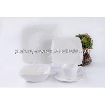 20 PCS porcelain square dinner set