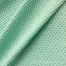 Weft knitted rayon elastane bubble jacquard knitting underwear fabric wholesale