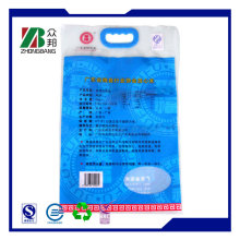 Rice Bag with Clear Window or Vivid Gravure Printing
